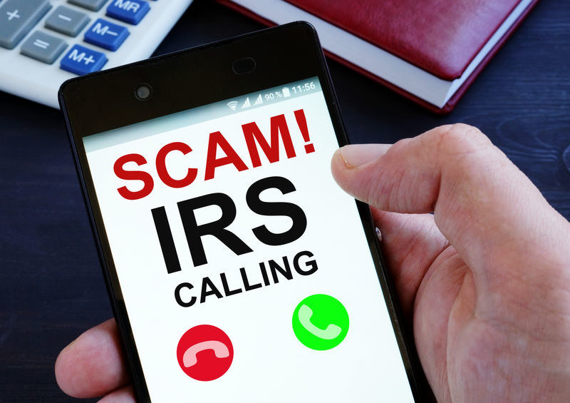 Tax specialists at Tampa's - IRS Warns of Tax Scams